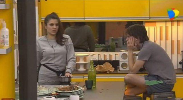 Ivana Icardi y El Tucu se cruzaron algunos comentarios en los cuales mostraron su enojo.