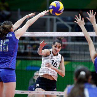 las panteras del voley no pudieron ante rusia en el debut absoluto en juegos olimpicos