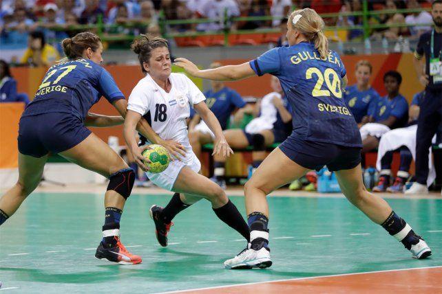 El handball femenino arrancó con derrota su sueño en los Juegos Olímpicos