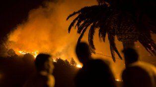 Sin control. El incendio arrasó con 4.000 hectáreas de la isla La Palma.