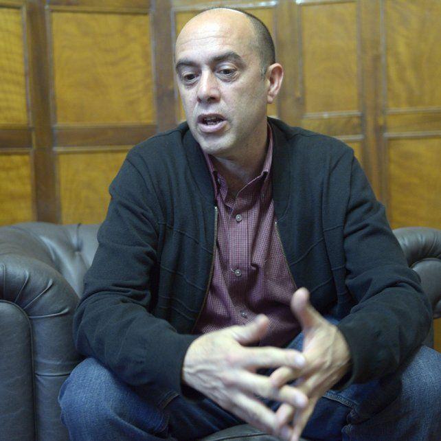 Preocupado. Claudio Martínez manifestó que se alejará un tiempo de la vida política del club porque prioriza su familia.