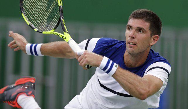 Delbonis no pudo con un intratable Nadal y quedó eliminado de  los Juegos de Rio