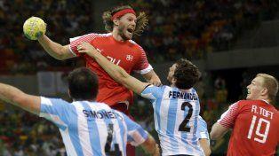 Los Gladiadores complicaron a Dinamarca, pero perdieron en su debut en los Juegos
