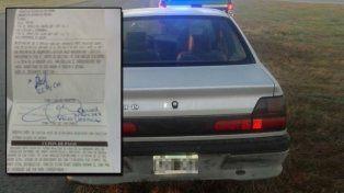 Un hombre fue detenido y multado con 182 mil pesos por manejar borracho y en contramano