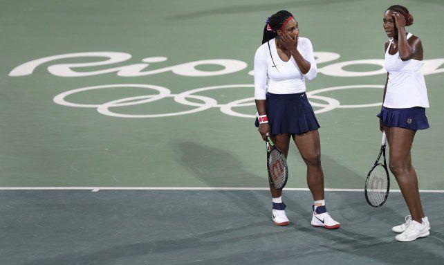 Sorpresa y desconcierto. Venus y Serena descubrieron lo que es una derrota olímpica.