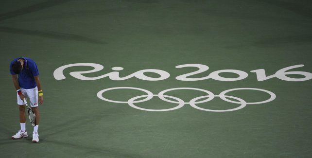 Djokovic se quedó sin Juegos Olímpicos en la primera ronda.