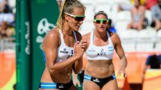 Desde las 14, Ana Gallay-Georgina Klug juegan contra Agatha-Bárbara, de Brasil, en la segunda fecha del grupo B, en Arena da Praia. Copacabana.