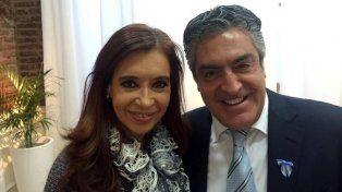 La exmandataria y el abogado Gregorio Dalbón.