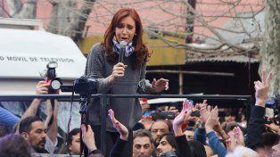 En la Villa 31, Cristina Kirchner consideró que su gobierno fue hiperdemocrático