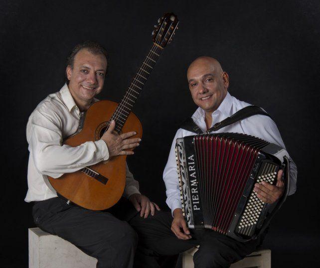 Innovadores. Nini Flores (a la derecha) con su hermano Rudi.