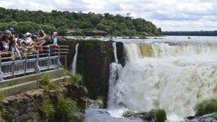 El sorteo consiste en un viaje a las cataratas del Iguazú con estadía para dos personas