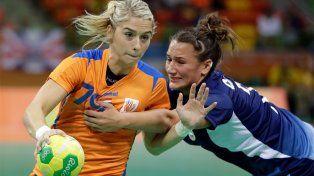 La Garra cayó ante Holanda en la segunda presentación del handball argentino en Río