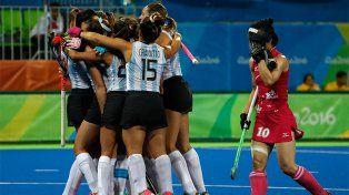 Las Leonas golearon a Japón y quedaron a un paso de los cuartos de final en los Juegos Olímpicos