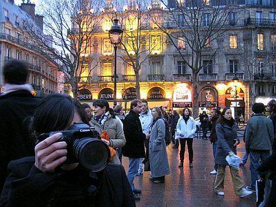Temor en París. La Ciudad Luz es la más afectada por la baja del turismo.