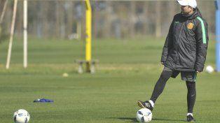 Coudet. El Chacho espera con ansias a los tres jugadores olímpicos: Lo Celso