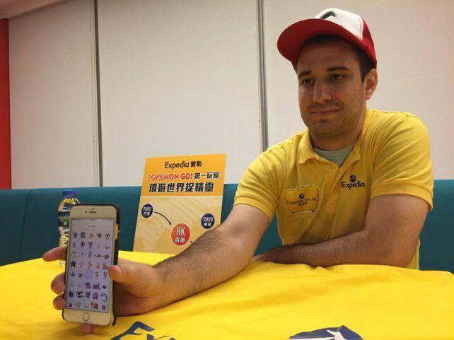 Un joven de 28 años afirma ser la primera persona en capturar las 145 criaturas de Pokémon Go