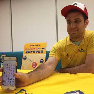 un joven de 28 anos afirma ser la primera persona en capturar las 145 criaturas de pokemon go