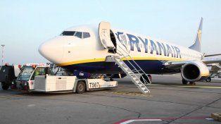El pasajero que perdió su vuelo intentaba abordar un avión de Ryanair.