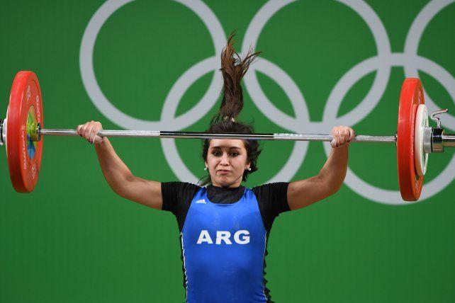 El emotivo mensaje de la pesista rosarina Palacios, que brilló en los Juegos de Rio
