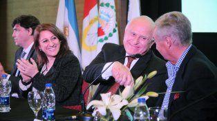 Mónica Fein dijo que el trabajo conjunto entre el Estado