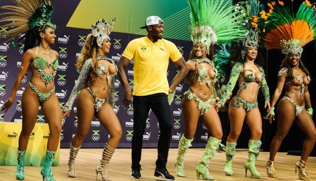 Usain Bolt se divirtió bailando samba y depués hizo un anunció que revolucionó los Juegos