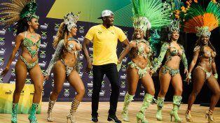 usain bolt se divirtio bailando samba y depues hizo un anuncio que revoluciono los juegos