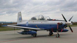 El t6-C Texan. El avión será usado en entrenamiento y control de fronteras.