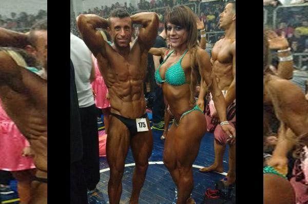Penoso. Manuel Medina y Vanina Tadeo en una competición reciente.