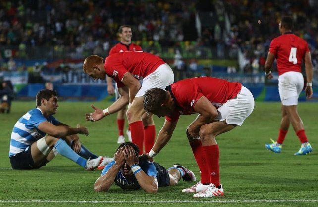 Los Pumas 7s se despidieron de los Juegos Olímpicos tras perder contra Gran Bretaña