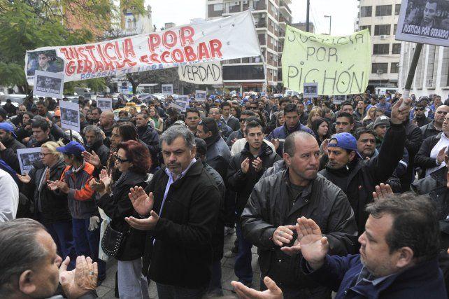 reclamo. A lo largo de todo el año que pasó hubo numerosas marchas pidiendo el esclarecimiento del caso y justicia.