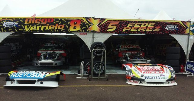 De Acebal. El Galarza Racing alistó además a los autos de Verrilo y Pérez