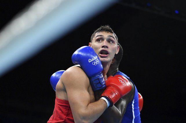 El argentino Yamil Alberto Peralta se quedó con las ganas de una medalla.