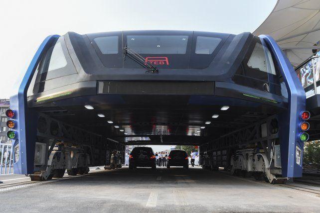 El TEB-1 durante su presentación hace algo más de una semana en la norteña provincia china de Qinhuangdao.