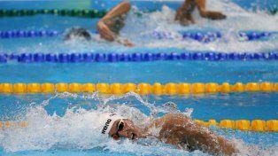 En 100 como en 200 metros Grabich finalizó en el puesto 22