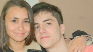Fabrizio y su novia