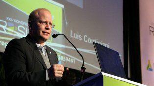 El ministro Contigiani mostró su preocupación por el rumbo de la economía.