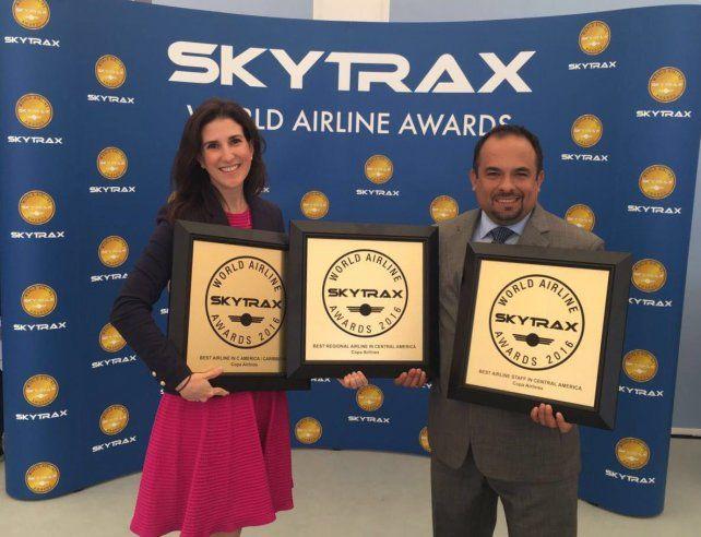 Tres premios de Skytrax consolidan a Copa Airlines