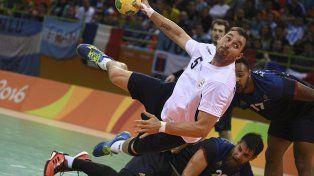 Argentina llegó a estar arriba en el marcador ante la gran potencia mundial del handball.