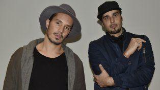 Embajadores del funk y e hip hop. Emmanuel Horvilleur y Dante Spinetta llegaron a la ciudad para difundir La humanidad o nosotros