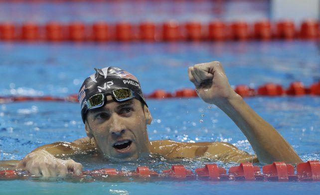 Michael Phelps ya es una leyenda en la historia de los Juegos Olímpicos.