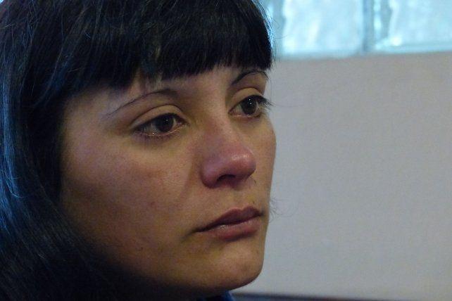 dolorida. Así está Luciana Escobar tras conocer el fallo de la Justicia federal.