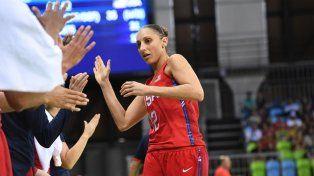 es la mejor jugadora del basquet estadounidense y confeso ser canalla de por vida