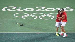 Nadal y Marc López ganaron el oro para España en dobles de tenis