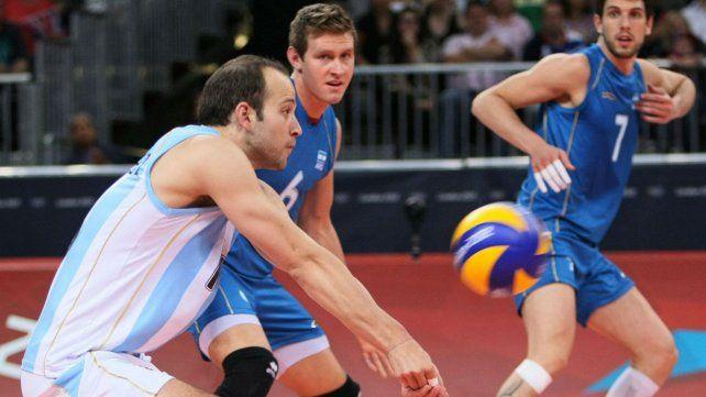 La selección argentina de voley dio un importante paso esta mañana en busca de una medalla.