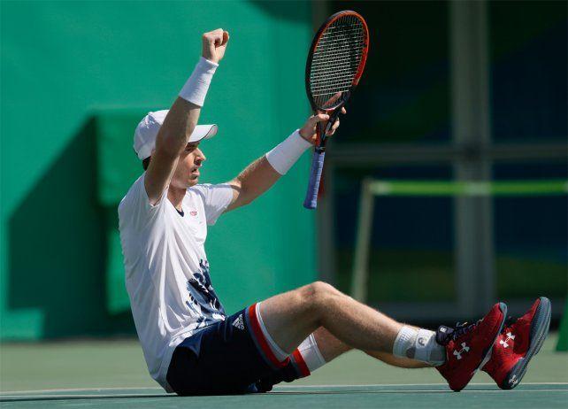 Murray eliminó a Nishikori y se instaló en la final para defender el oro olímpico