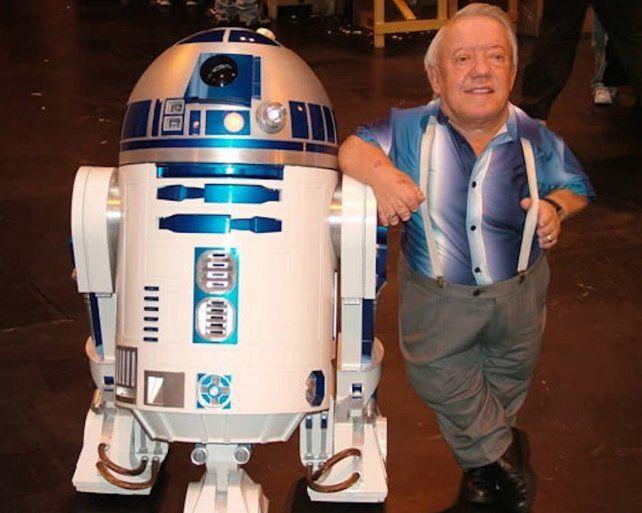 Murió Kenny Baker, el actor que encarnó a R2-D2 en Star Wars