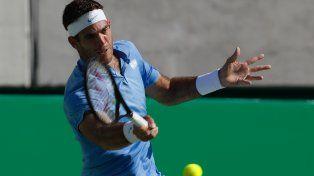Del Potro busca las semifinales ante Rafa Nadal.