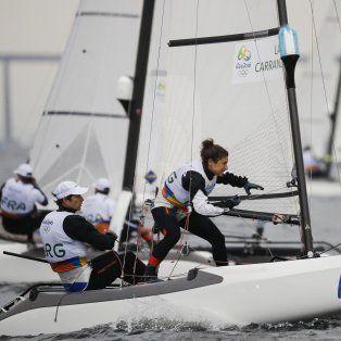 Cecilia Carranza Saroli y Santiago Lange sueñan con una medalla.