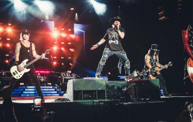 Cuándo y cómo se venderán las entradas para el show de Guns N Roses en Central