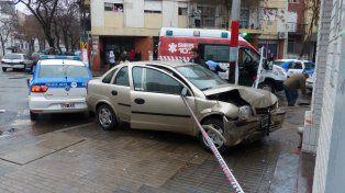 Menos golpeados. La caída de colisiones en las calles rosarinas se comenzó a exhibir entre 2013 y 2014. Esa tendencia se sigue verificando.